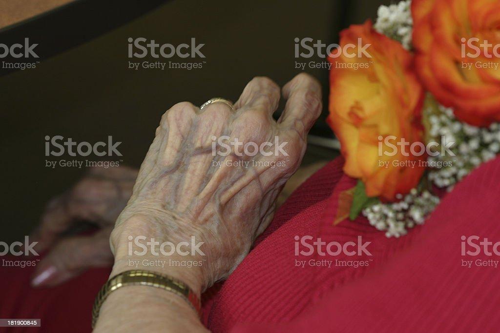 Turning 90 Birthday Series stock photo