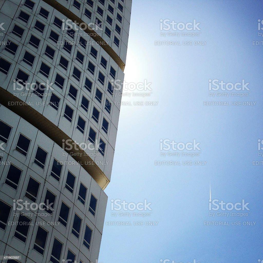 Turning Torso Detail stock photo