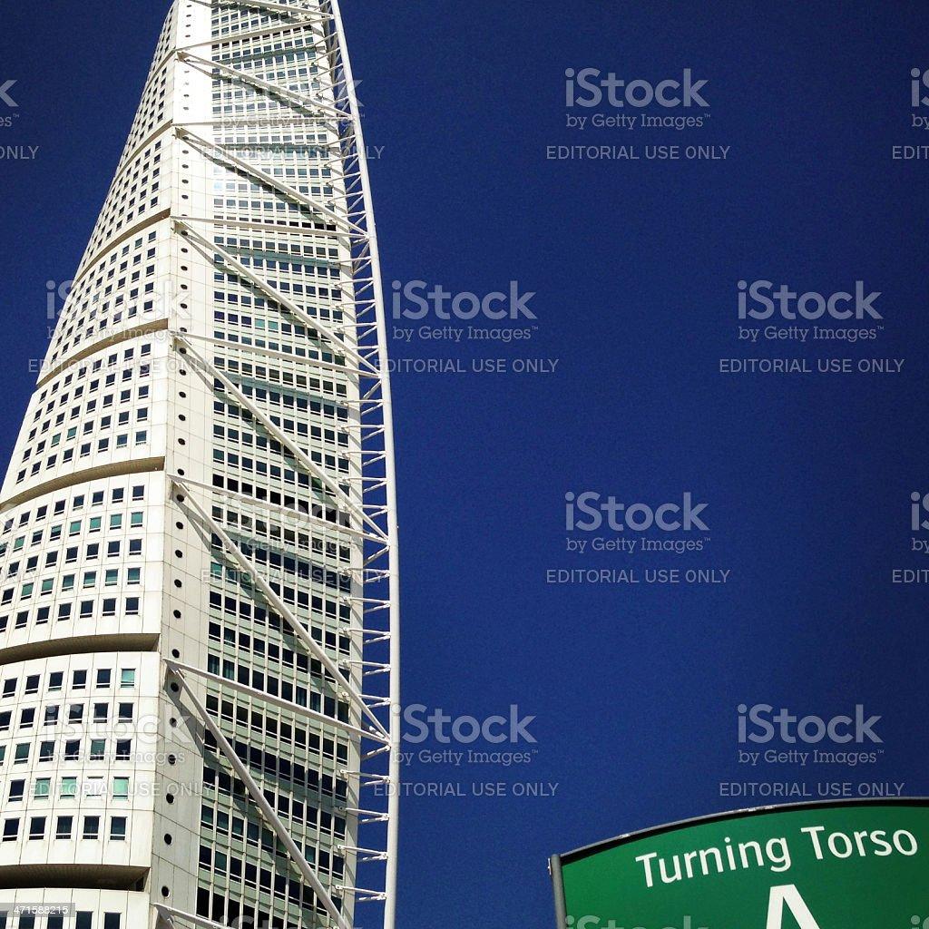 Turning Torso Landmark Skyscraper stock photo