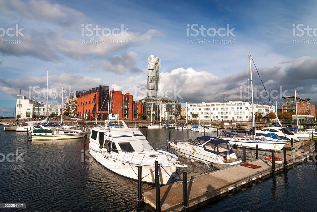 Turning Torso, Malmö, Sweden stock photo