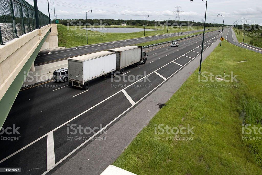 turnpike stock photo
