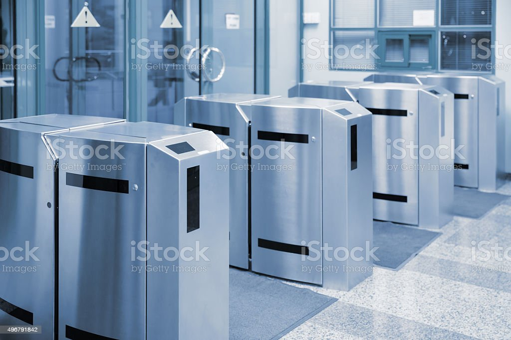 turnstile stock photo
