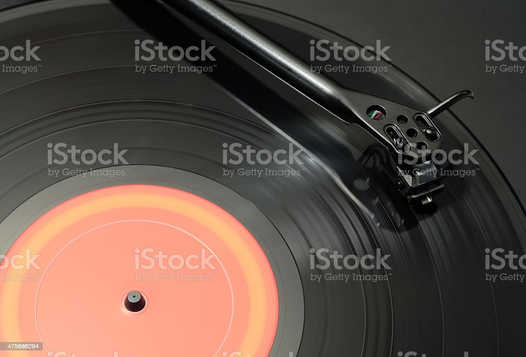 Turntable Closeup stock photo