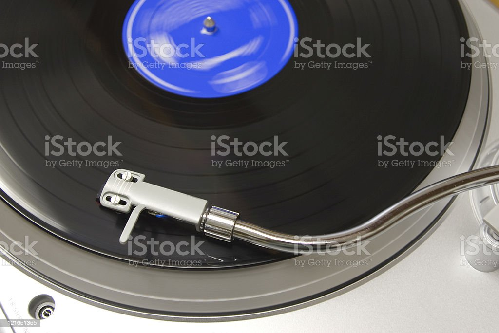 turntable II royalty-free stock photo