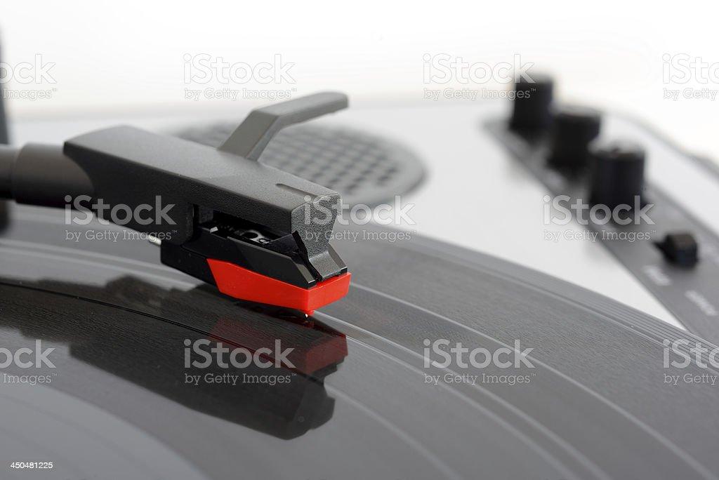 Turntable stock photo