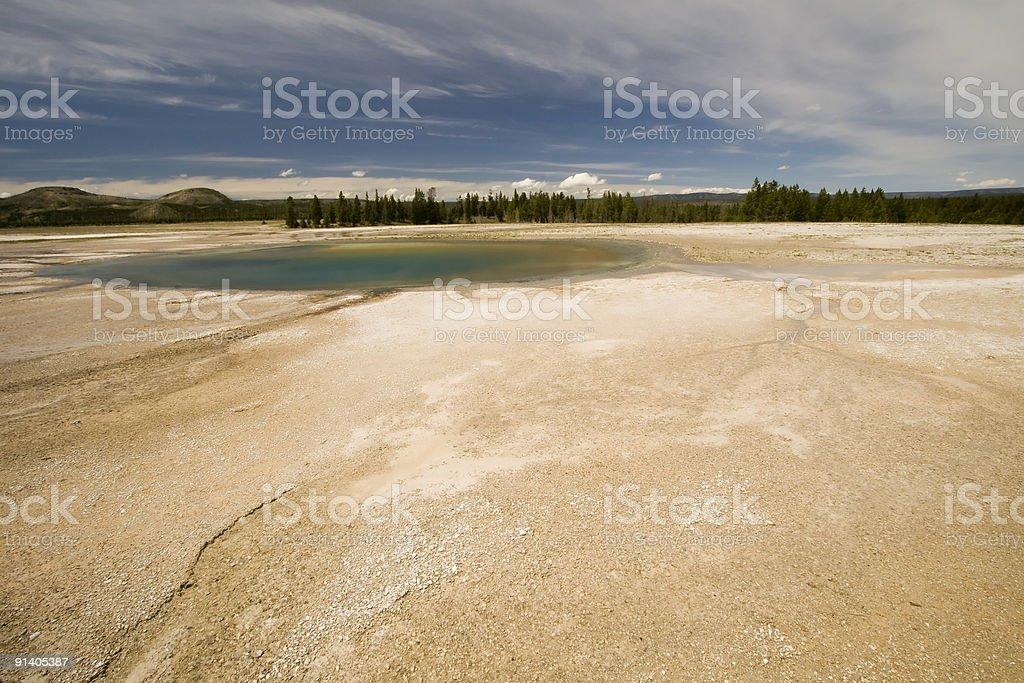 Turqoise Pool royalty-free stock photo