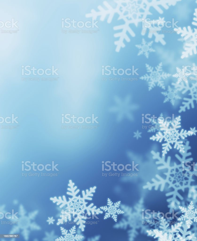 turqoise winter stock photo