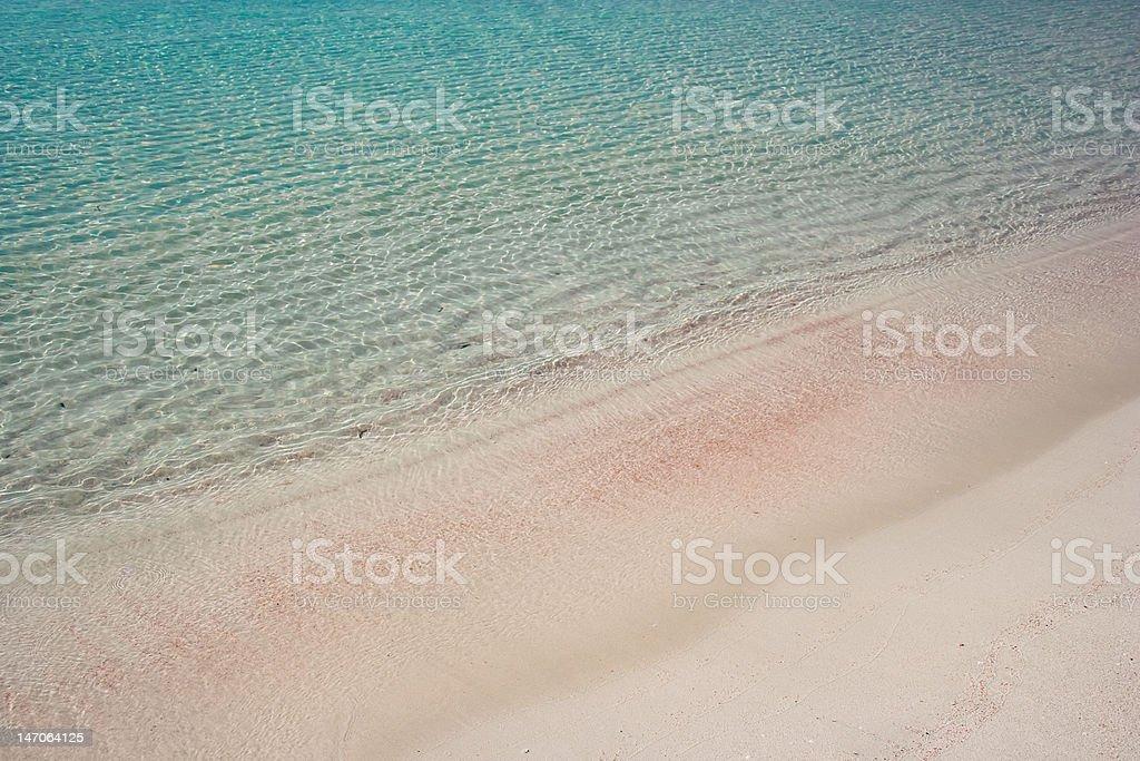 Turquiose water royalty-free stock photo