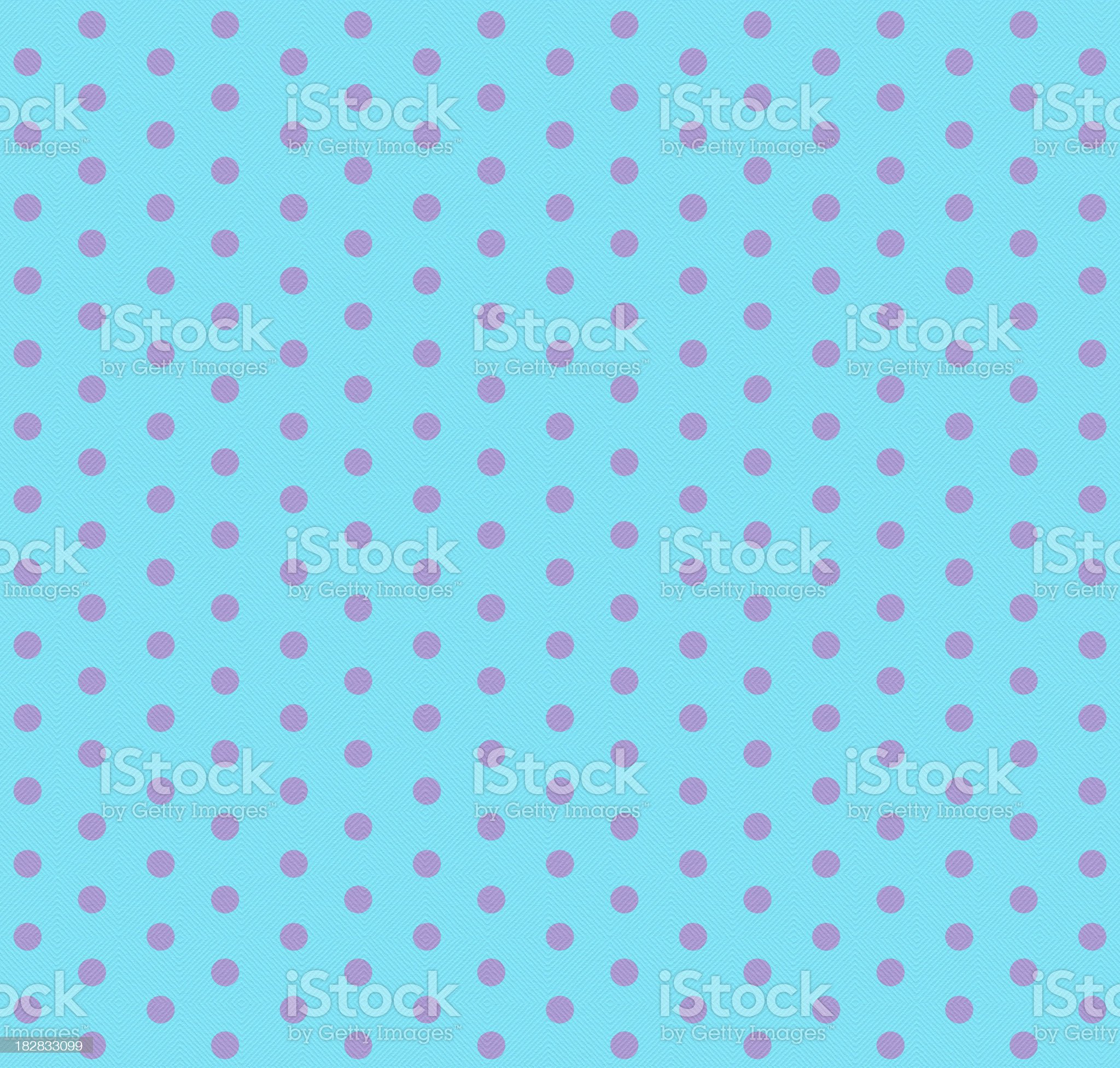 Turquoise and Pink Dots royalty-free stock photo