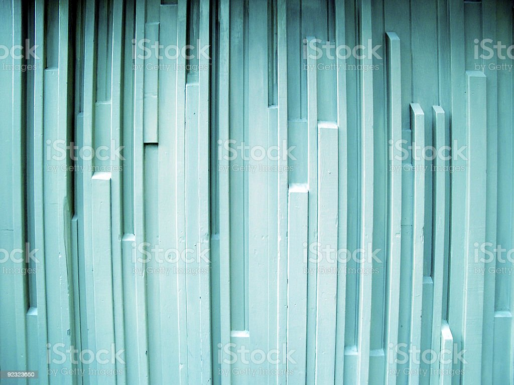 Turquoise art deco wall background royalty-free stock photo