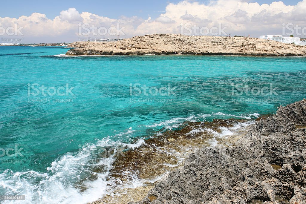 Turquoise bay royalty-free stock photo
