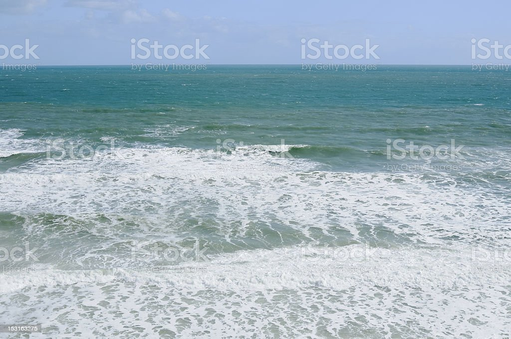 Turquoise Blue Ocean royalty-free stock photo