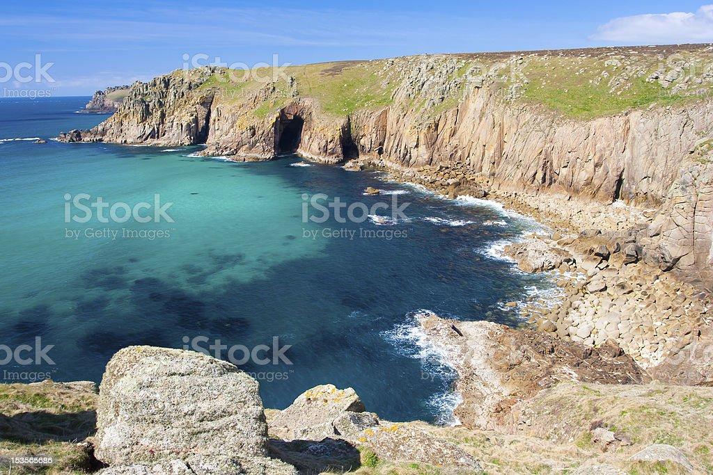 Bleu Turquoise de la mer photo libre de droits