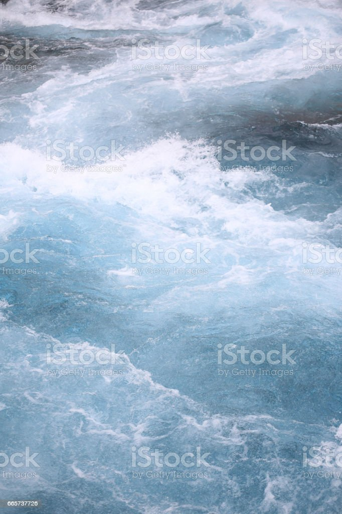 Turquoise Blue Water Rapids Dam Lake Tahoe Texture Background stock photo