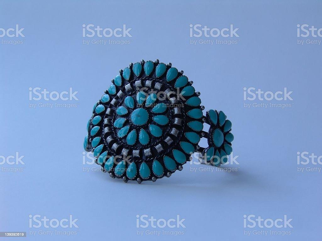 Turquoise Bracelet royalty-free stock photo