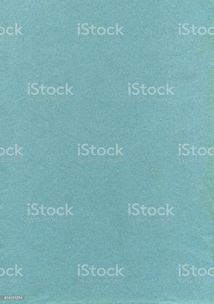 Turquoise coloured vintage paper background stock photo