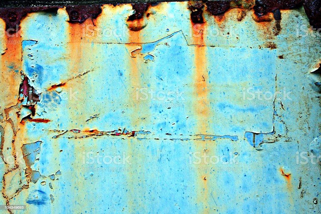 Turquoise Grunge royalty-free stock photo