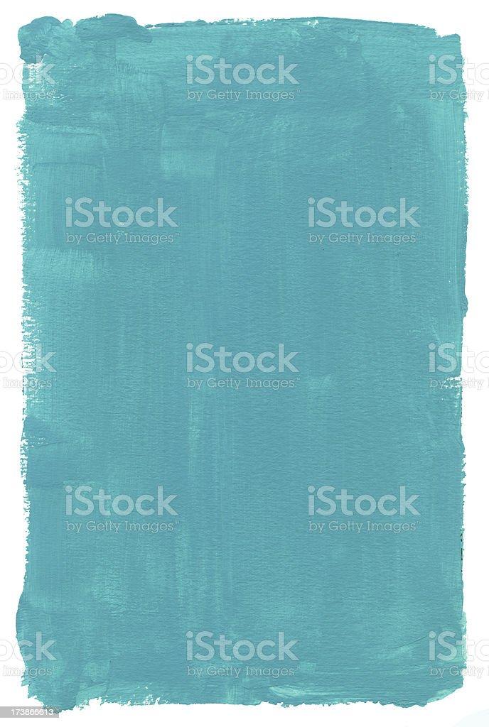 Turquoise Gum Frame royalty-free stock photo