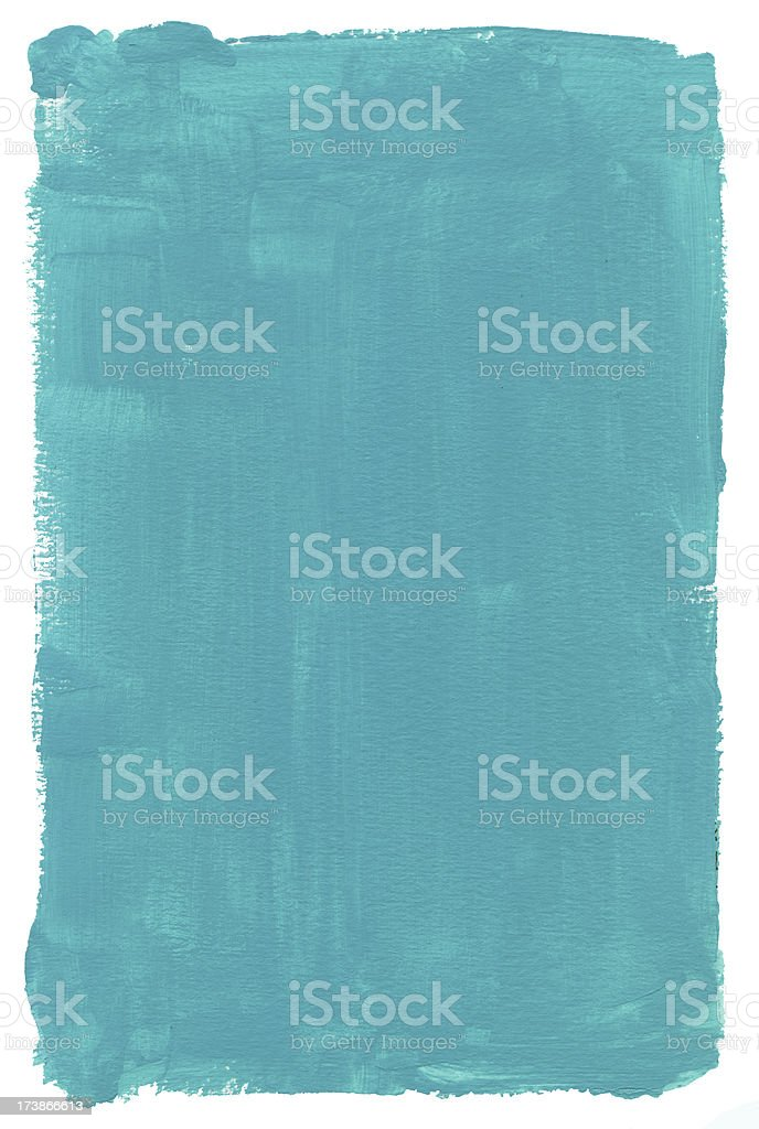 Turquoise Gum Frame stock photo