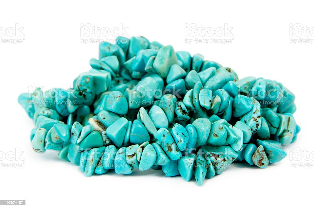 Turquoise Heap stock photo