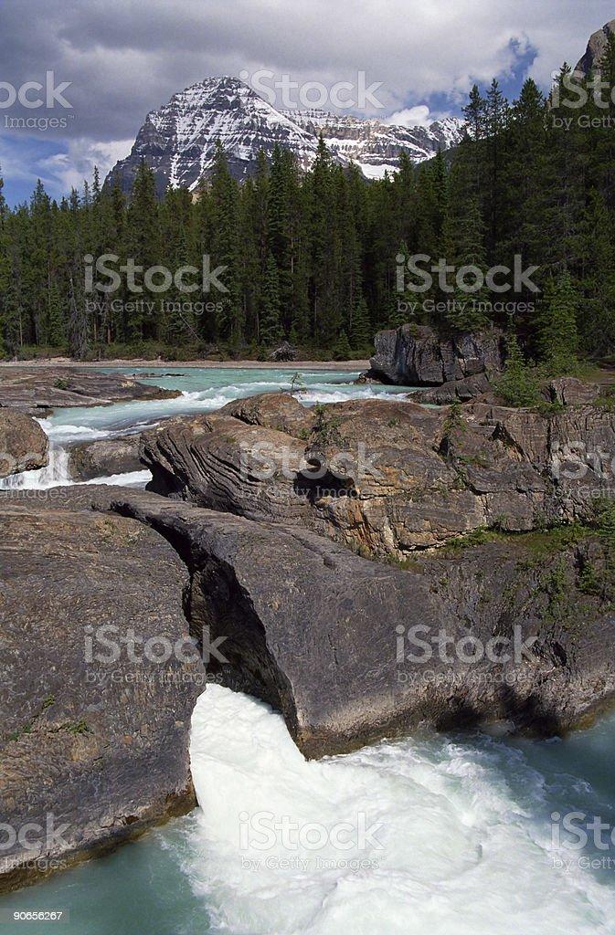 Turquoise Mountain River royalty-free stock photo