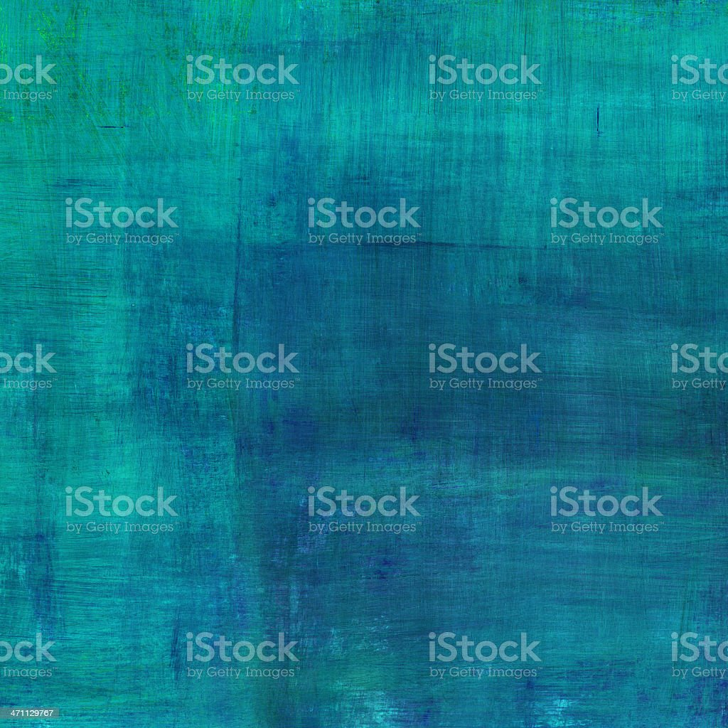 Turquoise Painted Background royalty-free stock photo