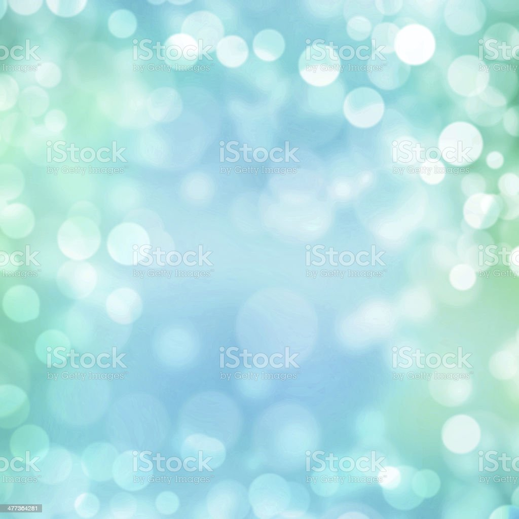 Turquoise pastel bokeh background stock photo