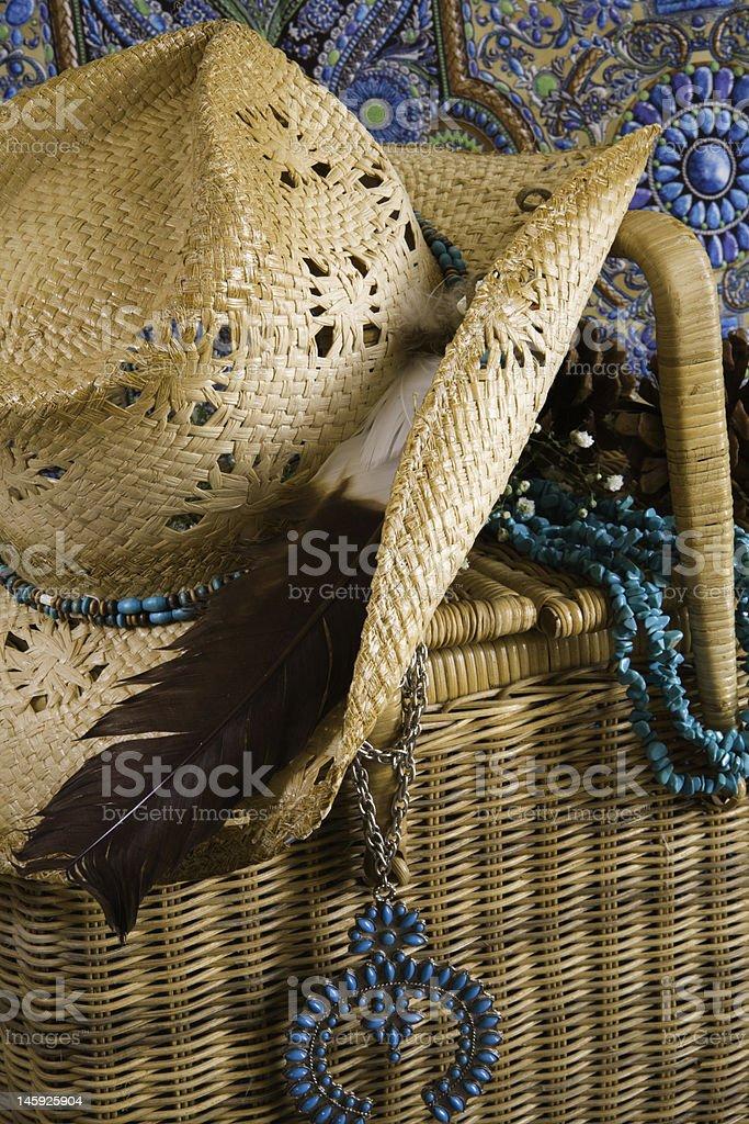 Turquoise Picnic royalty-free stock photo