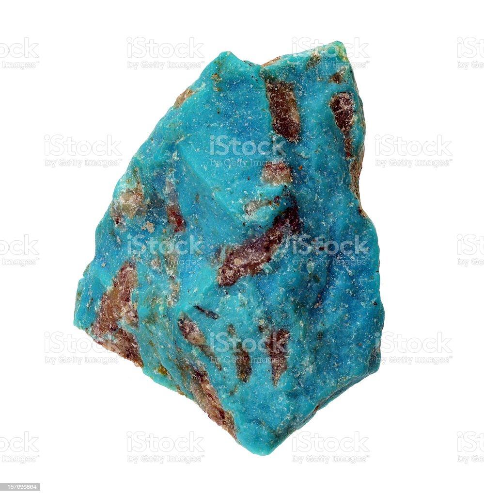 Turquoise Rough royalty-free stock photo