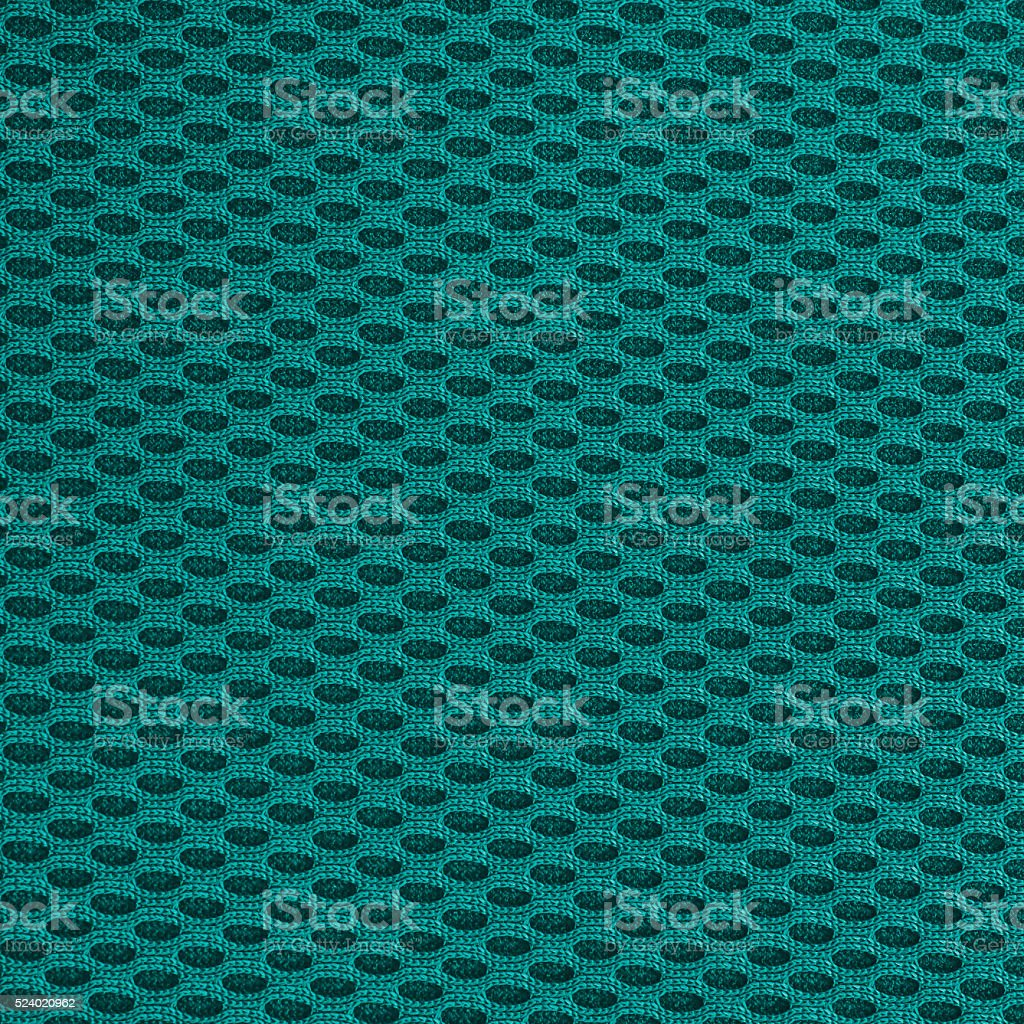 Turquoise teal multilayer fiber fabric texture. stock photo