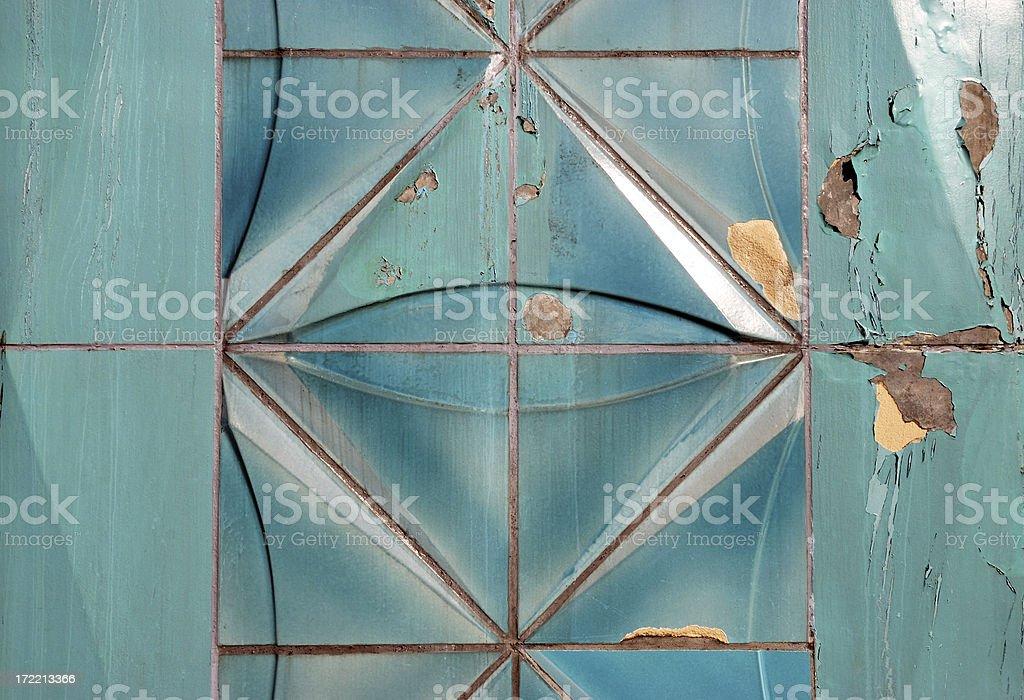 turquoise tiles royalty-free stock photo
