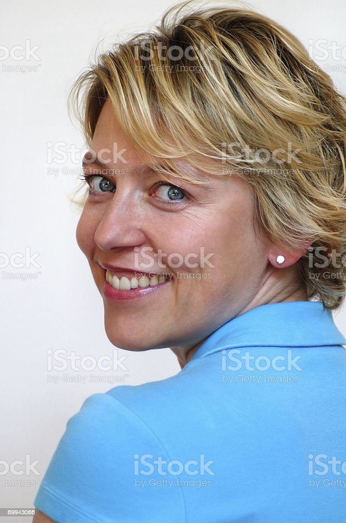 Turquoise Top royalty-free stock photo
