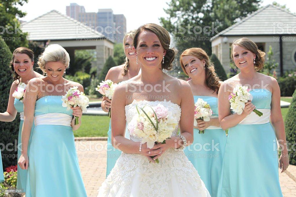 Turquoise Wedding Photos royalty-free stock photo