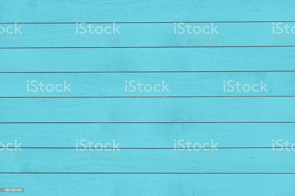 Turquoise wood texture stock photo