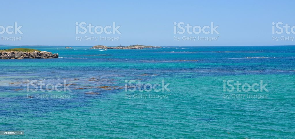 Turquoise-Green Indian Ocean: Australia stock photo
