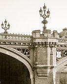 Turret and Lamp Post on Lendal Bridge in York England