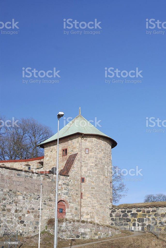 Turret stock photo
