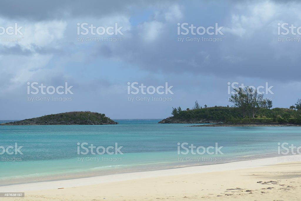 Turtle Beach, Bermuda stock photo