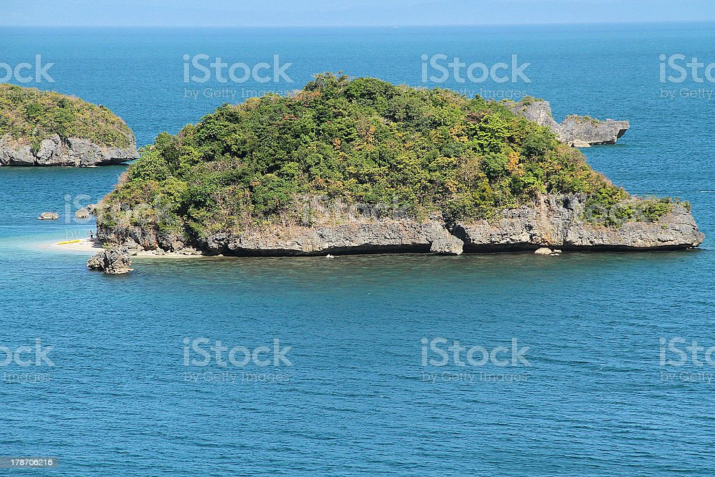 Isola Tartaruga foto stock royalty-free