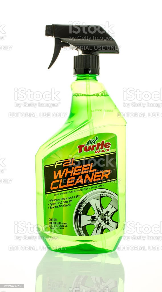 Turtle Wax Wheel & Tire Cleaner stock photo