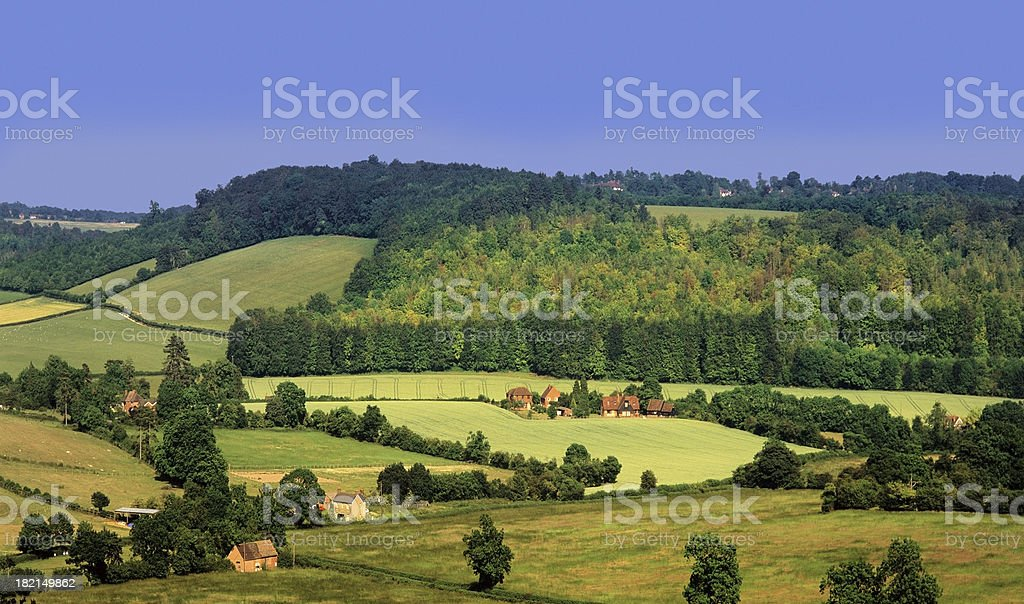 turville stock photo