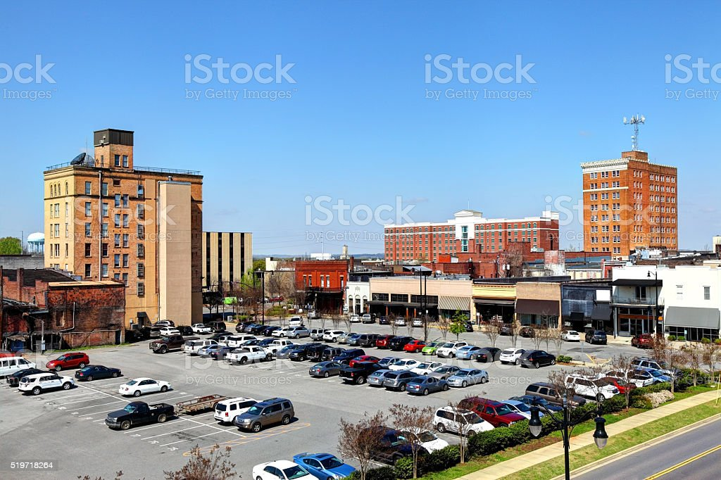 Tuscaloosa, Alabama stock photo
