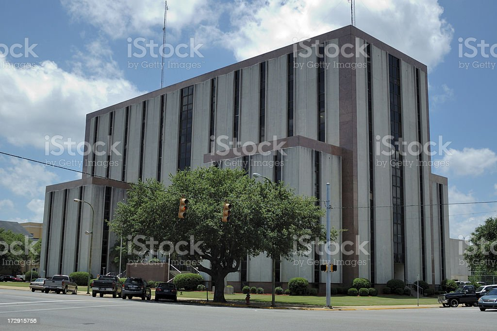 Tuscaloosa County Courthouse stock photo