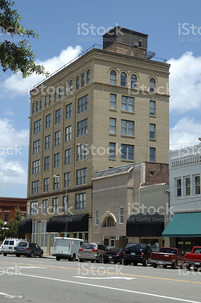 Tuscaloosa Historical Building stock photo