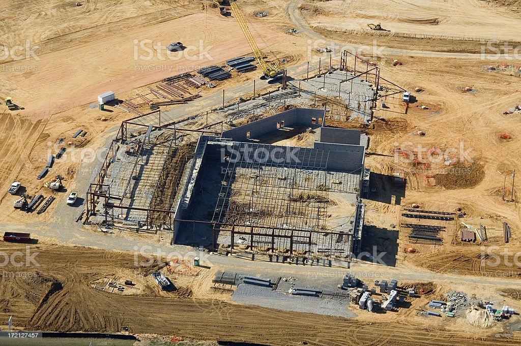 Tuscaloosa Store Construction royalty-free stock photo