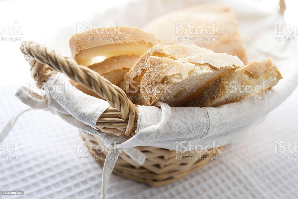Tuscan bread stock photo