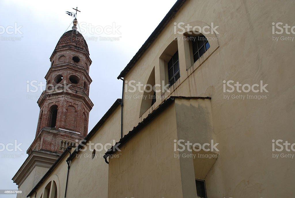 Tuscan Church stock photo