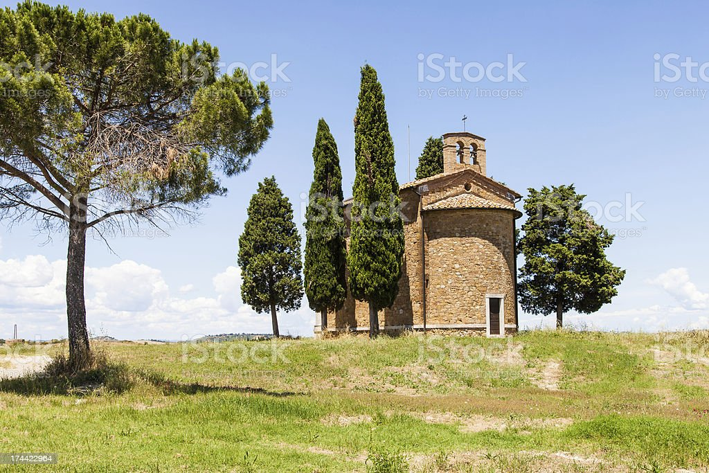 Tuscan country stock photo
