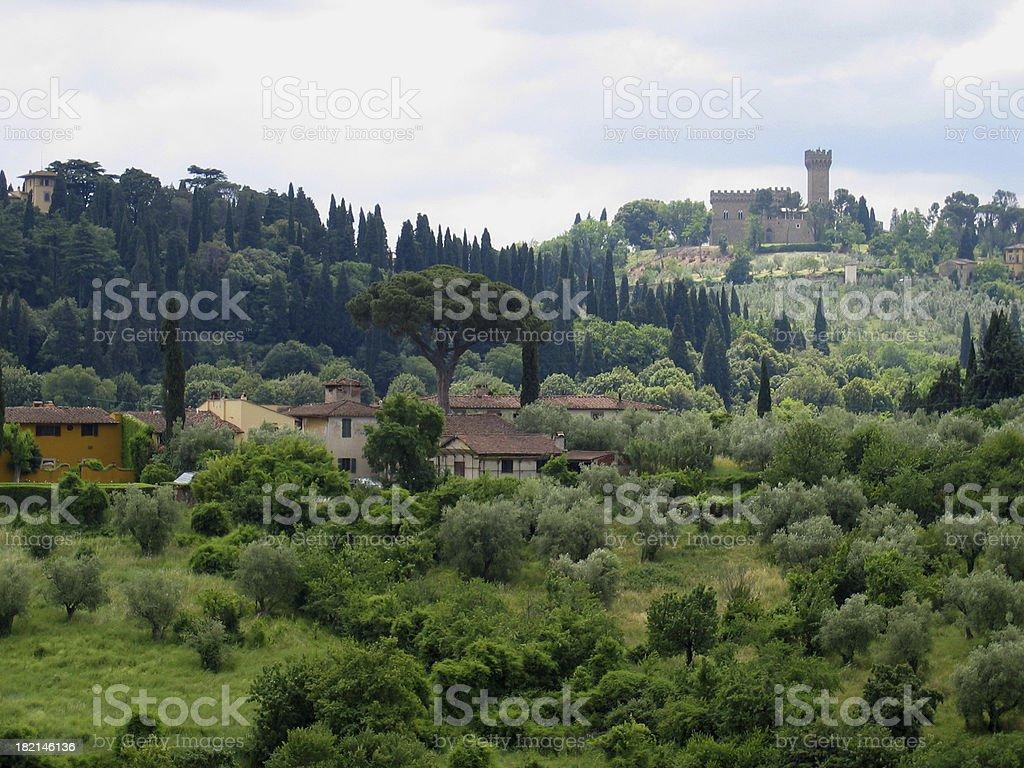 Tuscan Countryside I - Italia royalty-free stock photo