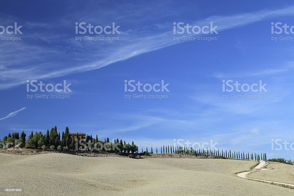 Tuscan Home royalty-free stock photo